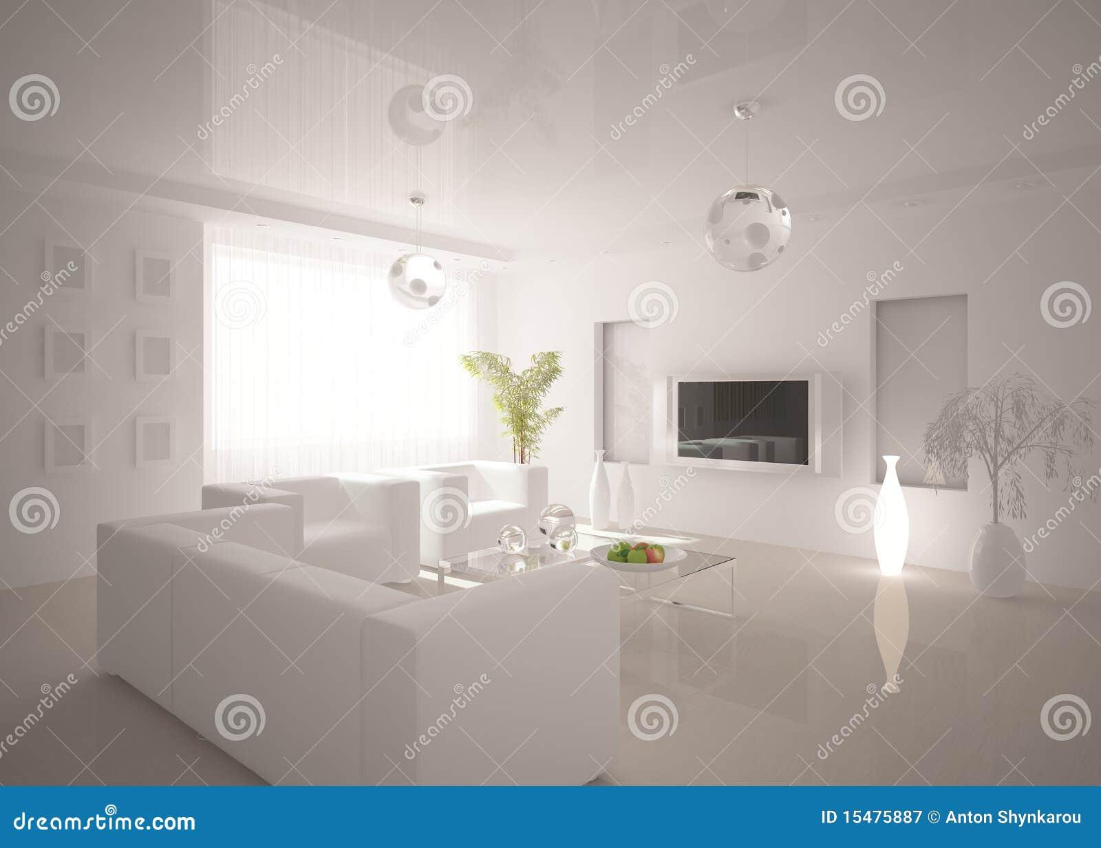 Interior moderno branco