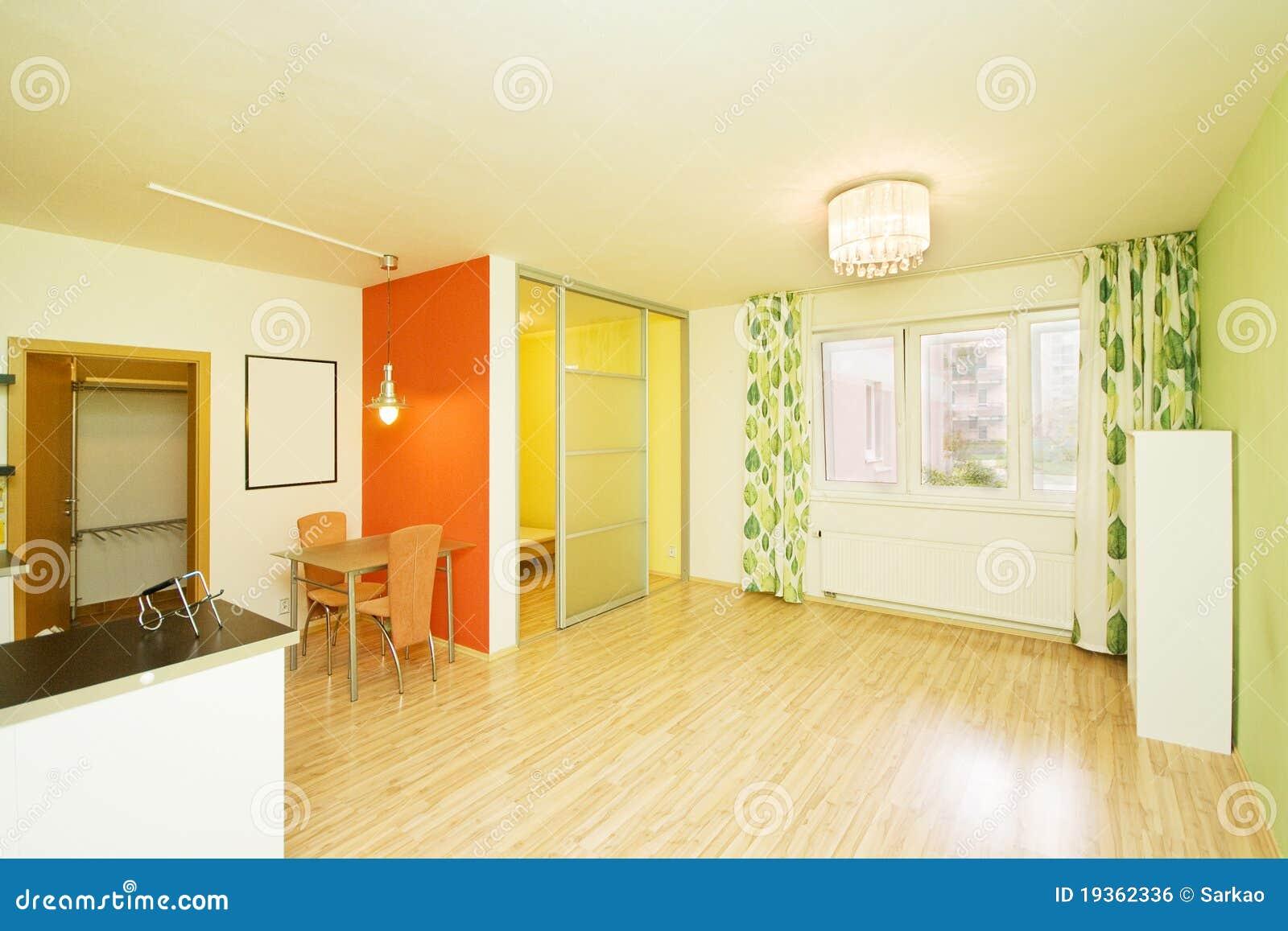 Interior moderno brilhante