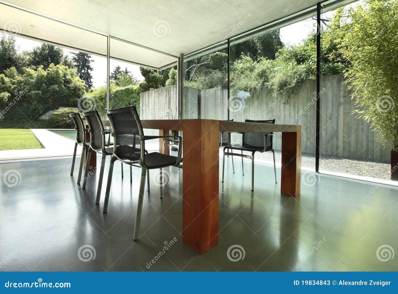 Interior moderno da casa