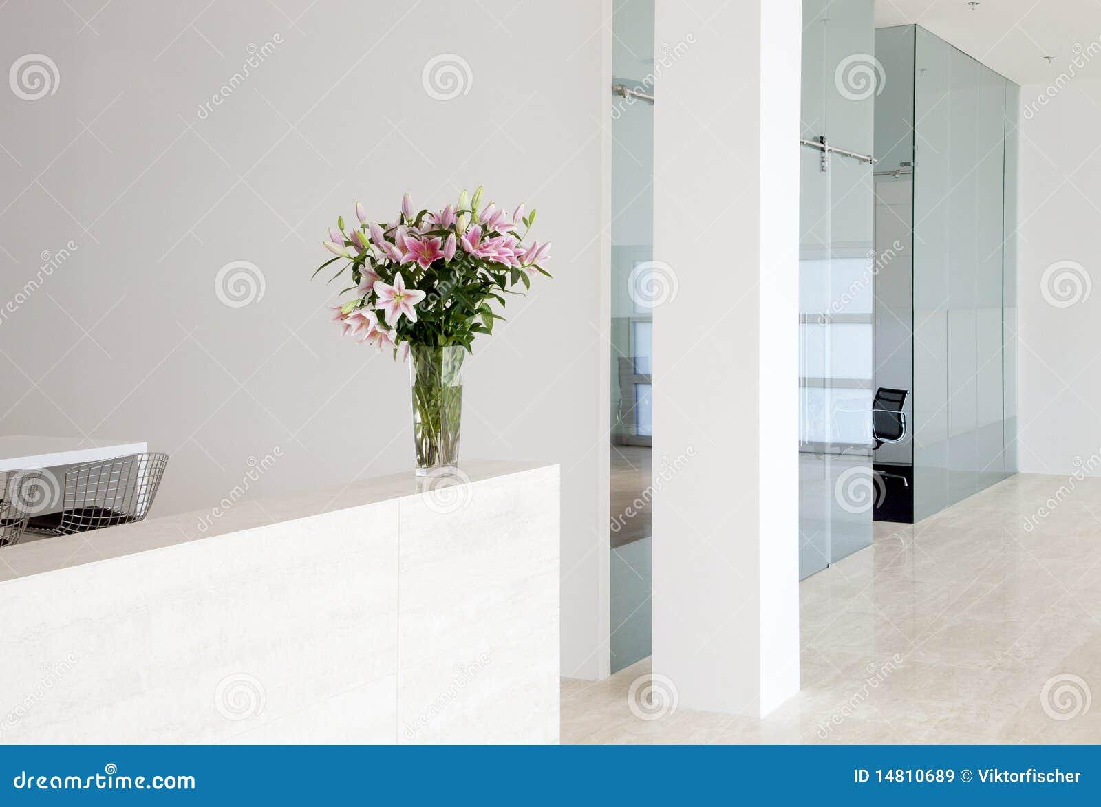 Interior moderno da companhia