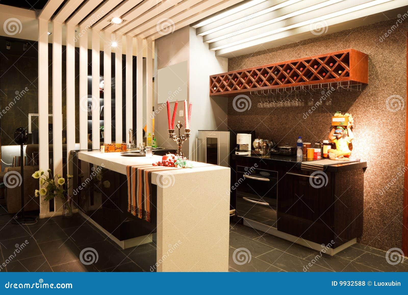 Interior Moderno De La Barra O Del Restaurante Fotos De