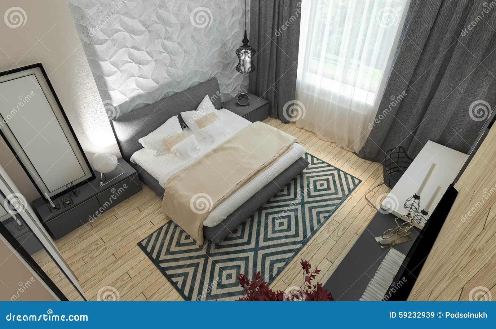 Download Interior Moderno Del Dormitorio Imagen de archivo - Imagen de hoteles, elegancia: 59232939
