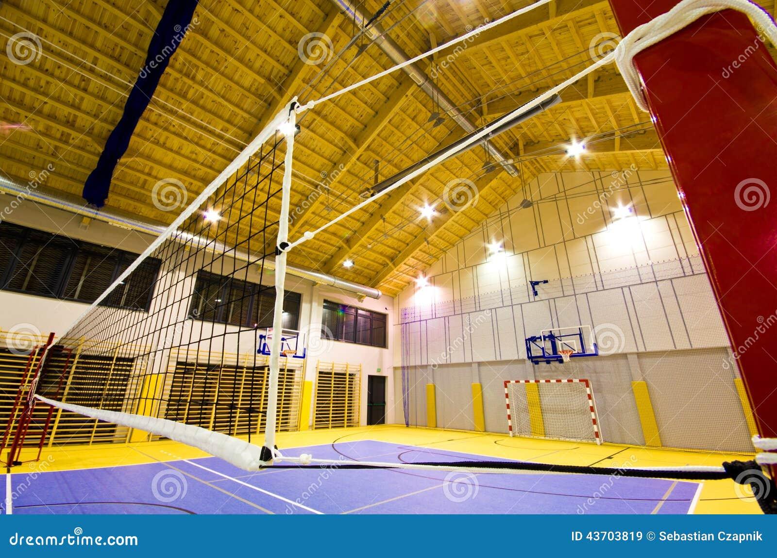 Interior moderno del gimnasio foto de archivo imagen for Gimnacio o gimnasio