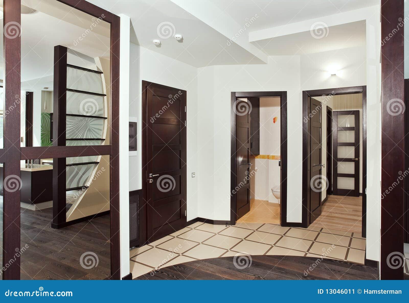 Pin pin puertas interiores casas de madera americanas for Diseno pasillos interiores