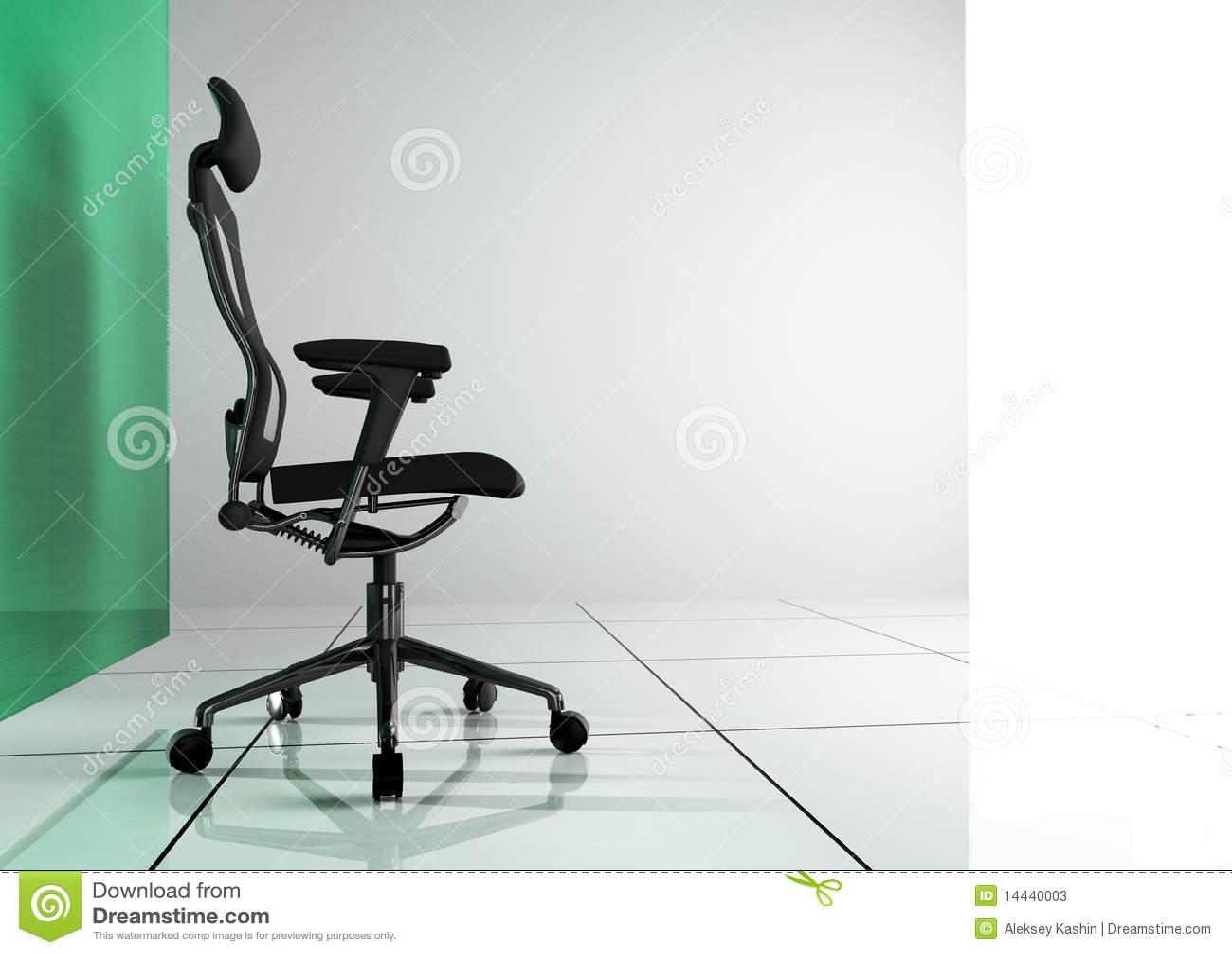 Interior moderno do escritório