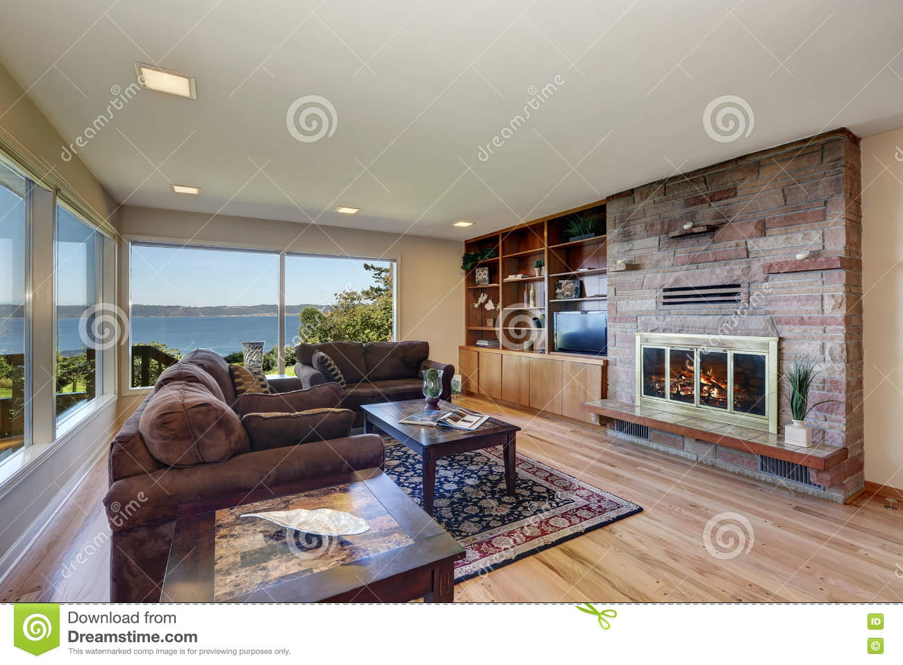 Royalty Free Stock Photo. Download Interior Of Nicely Furnished Living Room  ... Part 83