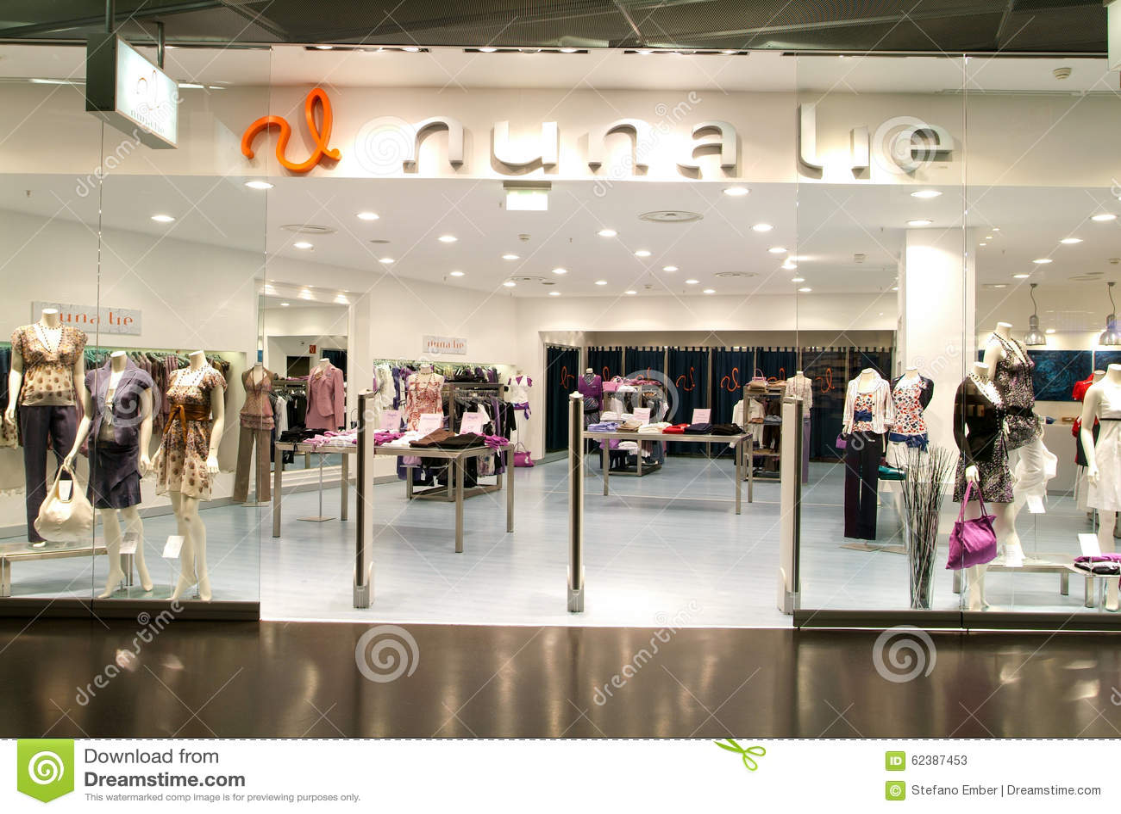 Interior Of Nuna Lie Fashion Clothes Store Editorial Stock Photo