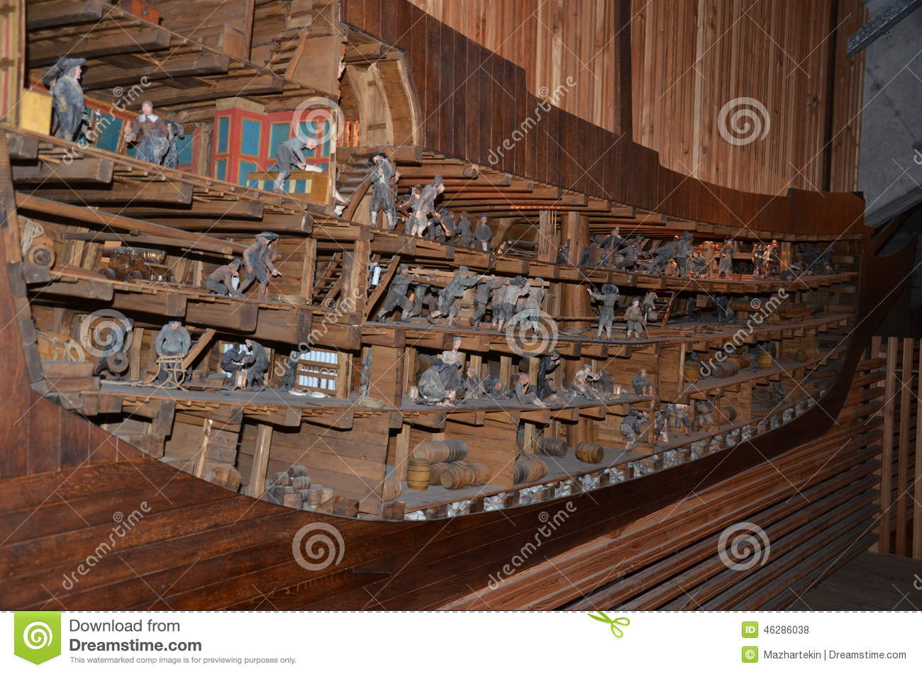 interior of an old european ships stock photo image 46286038