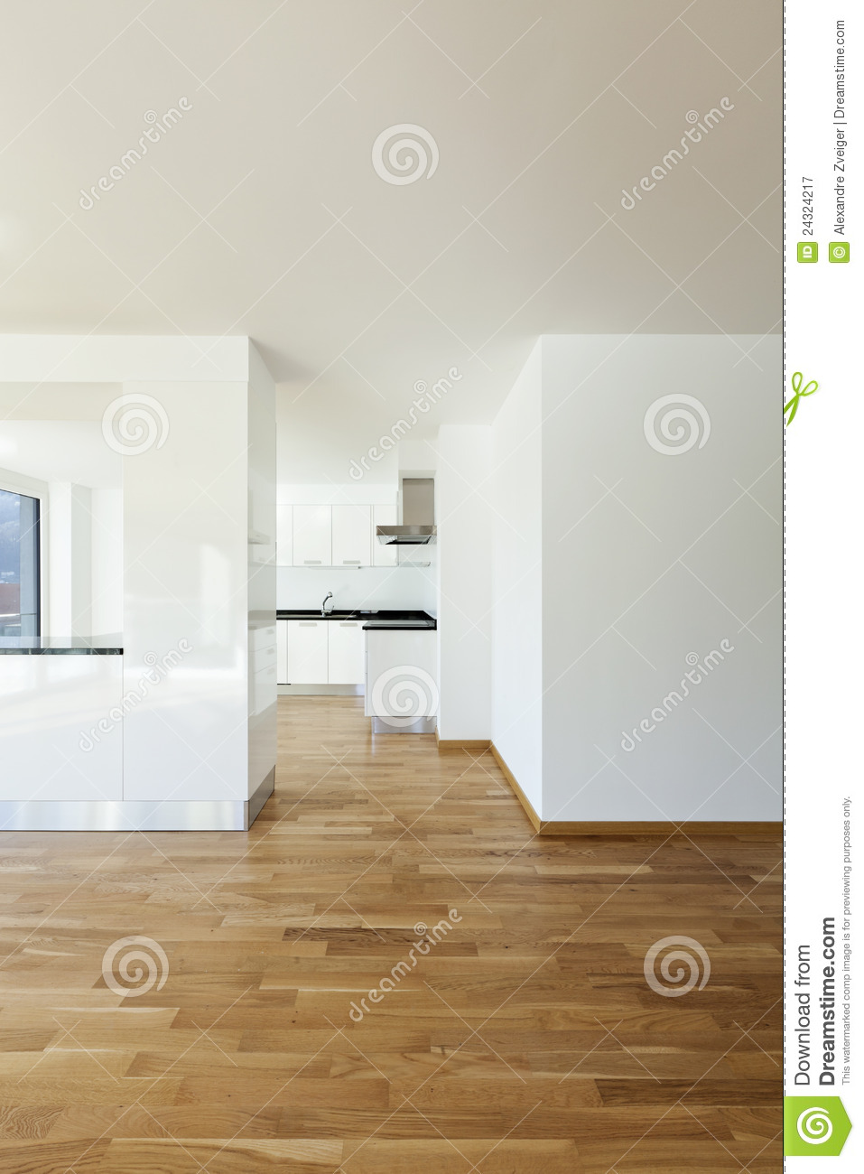 Interior Open Space Royalty Free Stock Photography