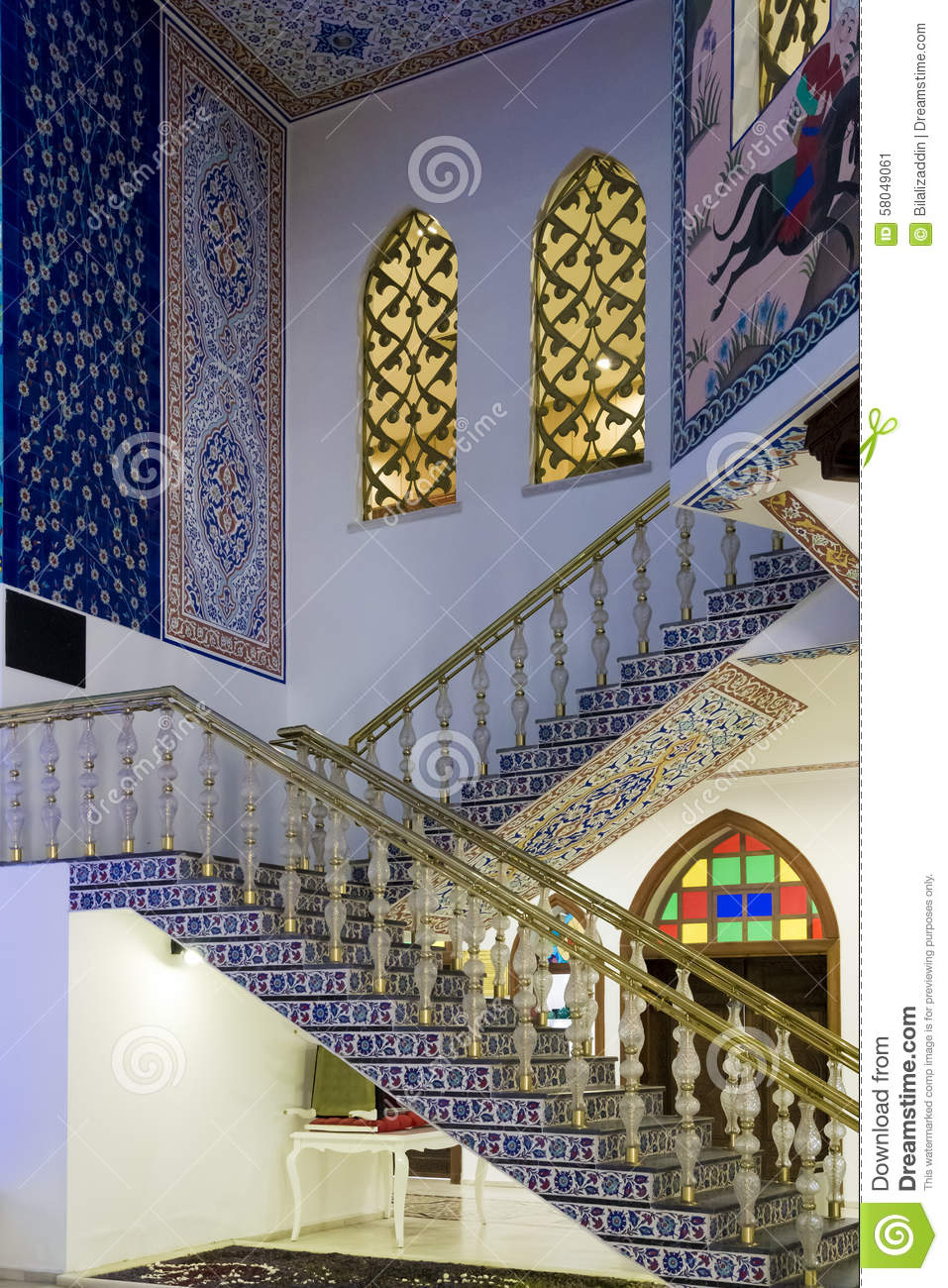Interior Of Ottoman House Stock Photo - Image: 58049061