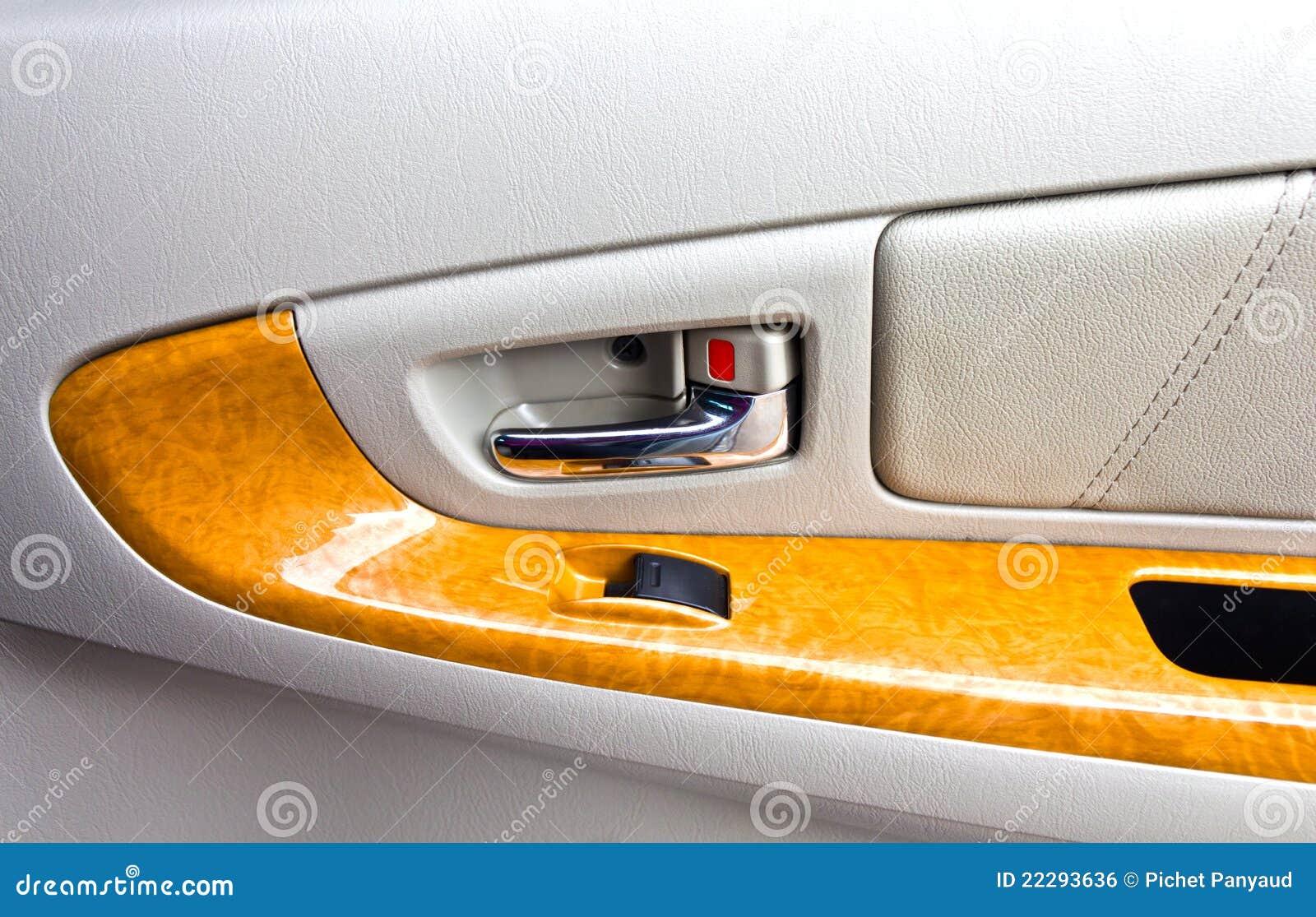 interior panel of car door stock photo image of skin 22293636. Black Bedroom Furniture Sets. Home Design Ideas
