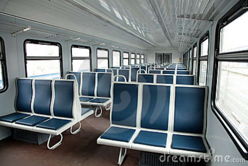 interior of a passenger train stock images image 13926934. Black Bedroom Furniture Sets. Home Design Ideas