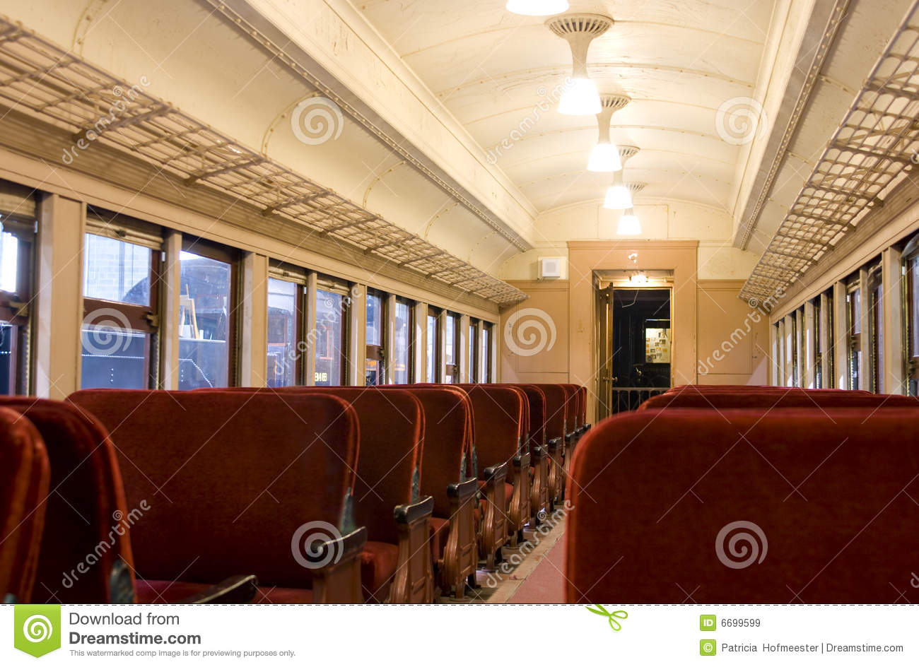 interior of a pullman train of 1930 39 s stock image image 6699599. Black Bedroom Furniture Sets. Home Design Ideas