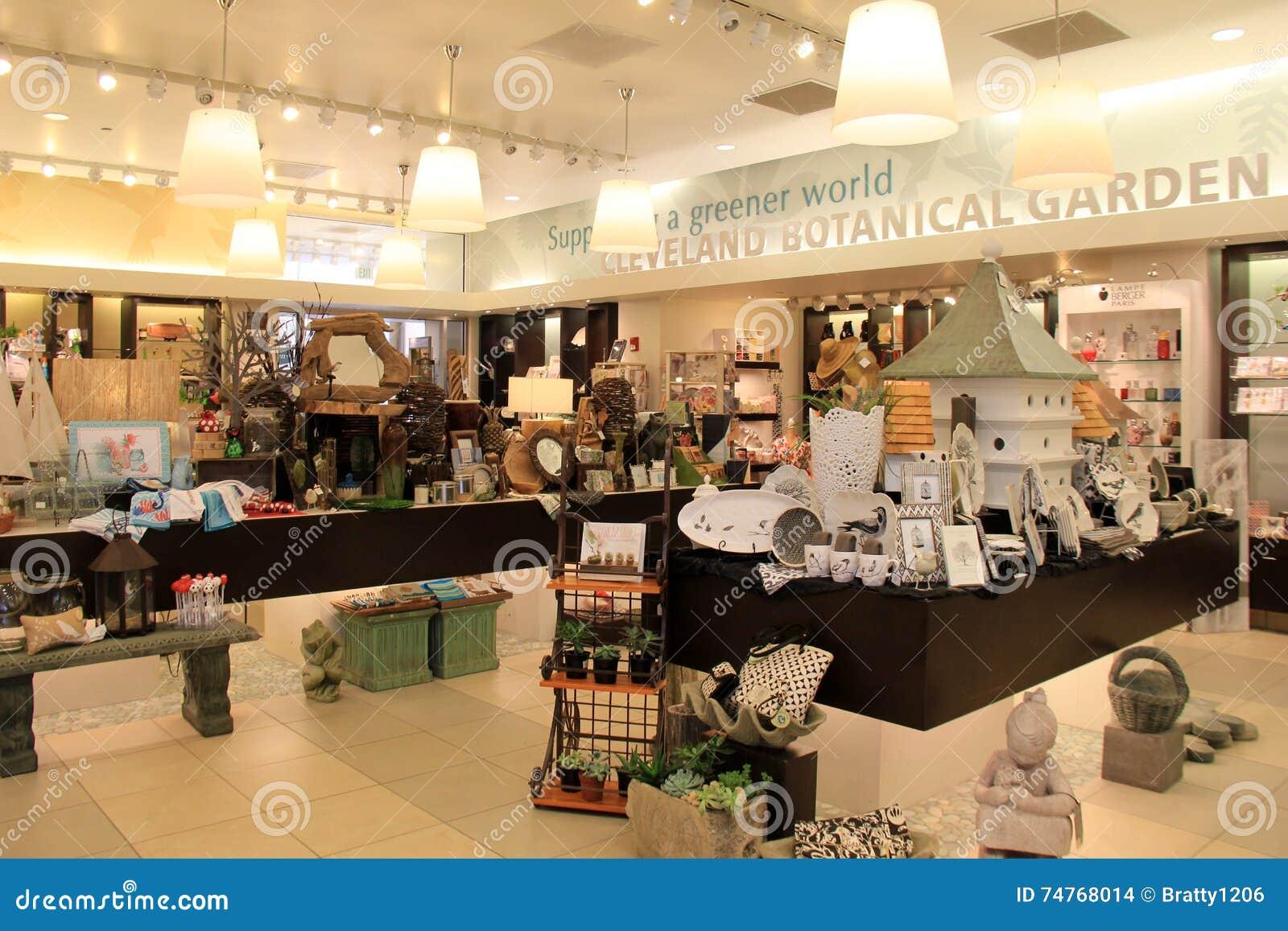 Interior Shot Of Gift Shop,Cleveland Botanical Garden,Ohio,2016 ...