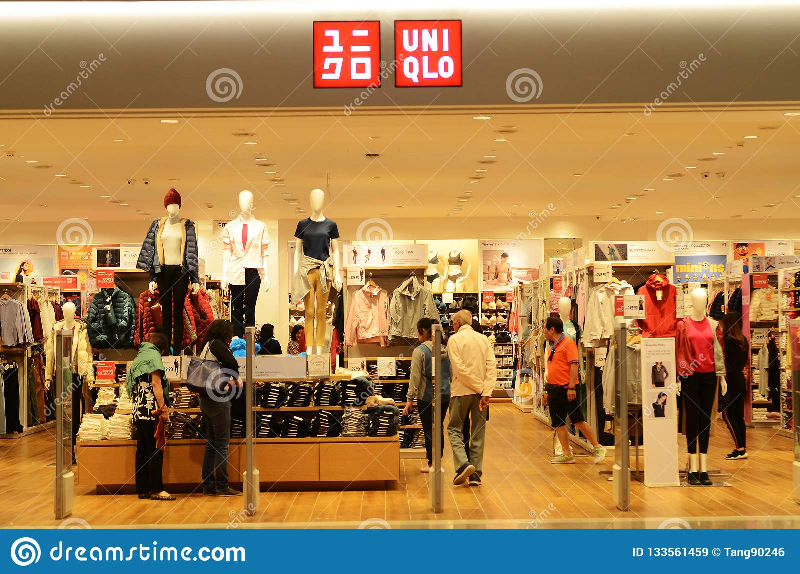Interior Shot Of Uniqlo Store In Genting Highlands Malaysia