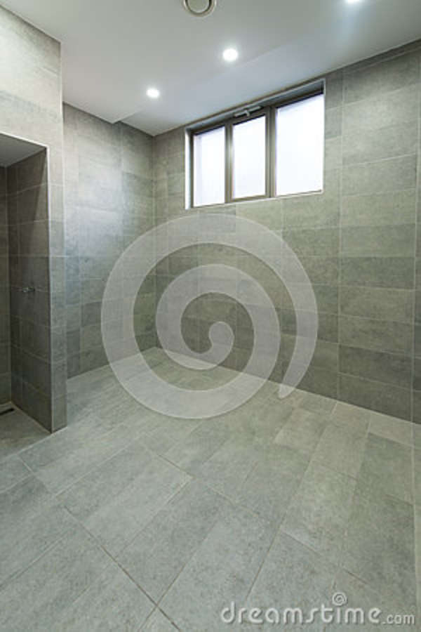 Interior of a shower room stock image image of closet