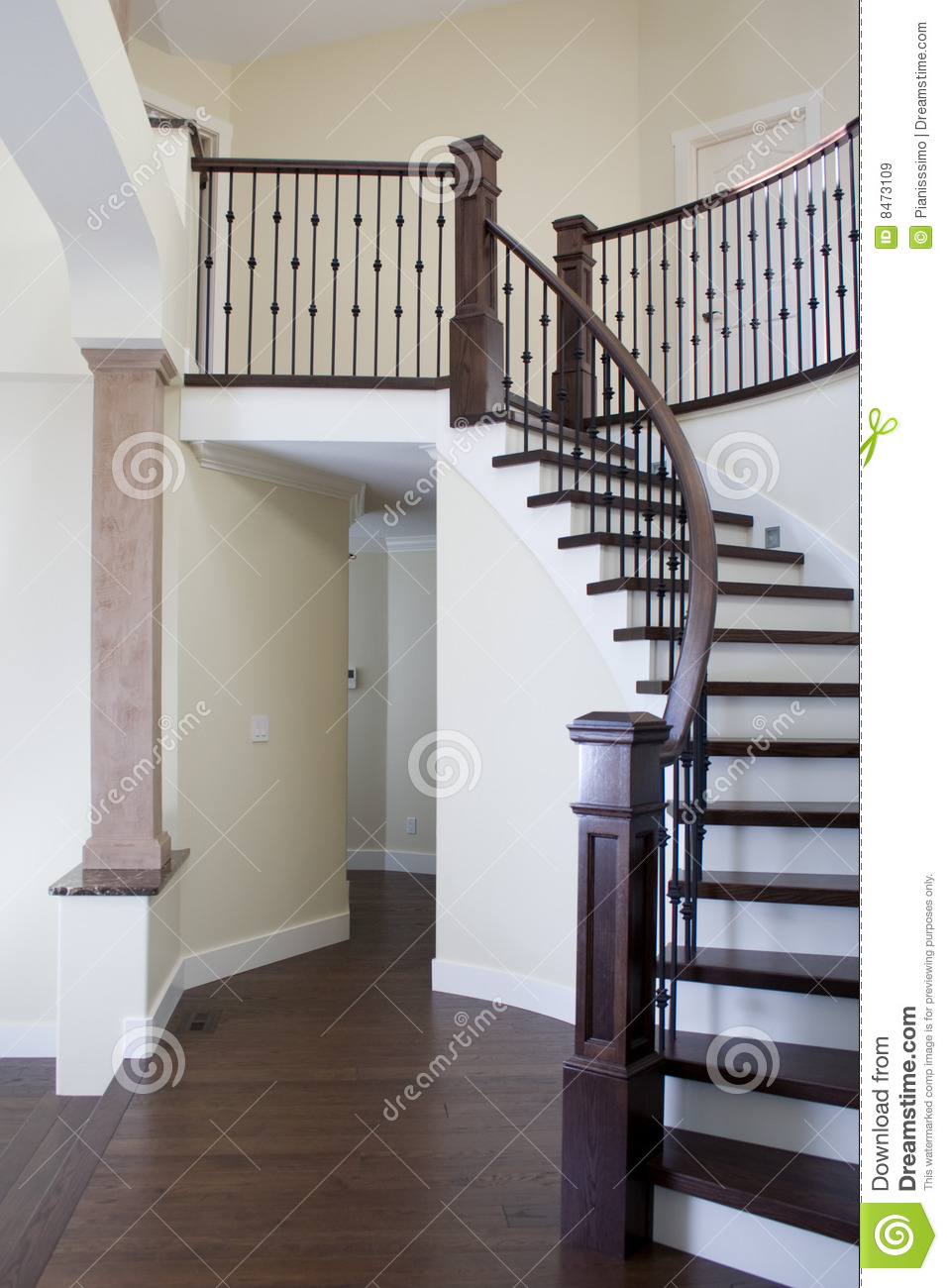 Interior stairs royalty free stock images image 8473109