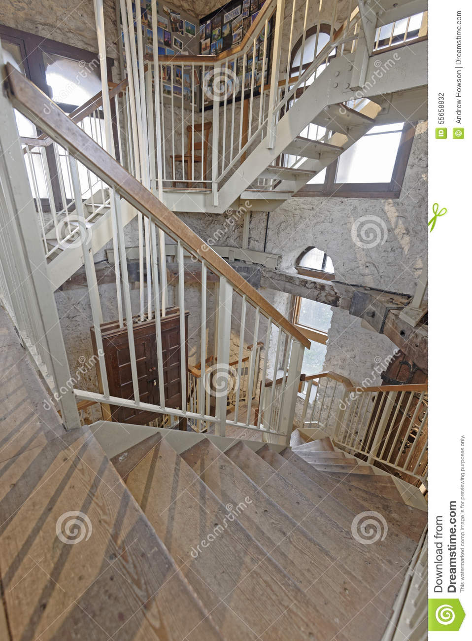 Attractive Interior Image Of Interior Stairs Taken In The Saxon Tower Of St Michaelu0027s,  Oxford, England. The North Gate Is The Oldest Surviving Building In Oxford  At ...