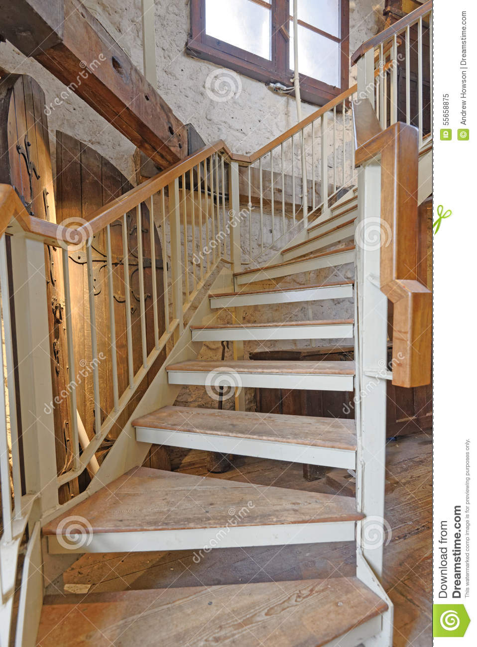 Interior Image Of Interior Stairs Taken In The Saxon Tower Of St Michaelu0027s,  Oxford, England. The North Gate Is The Oldest Surviving Building In Oxford  At ...