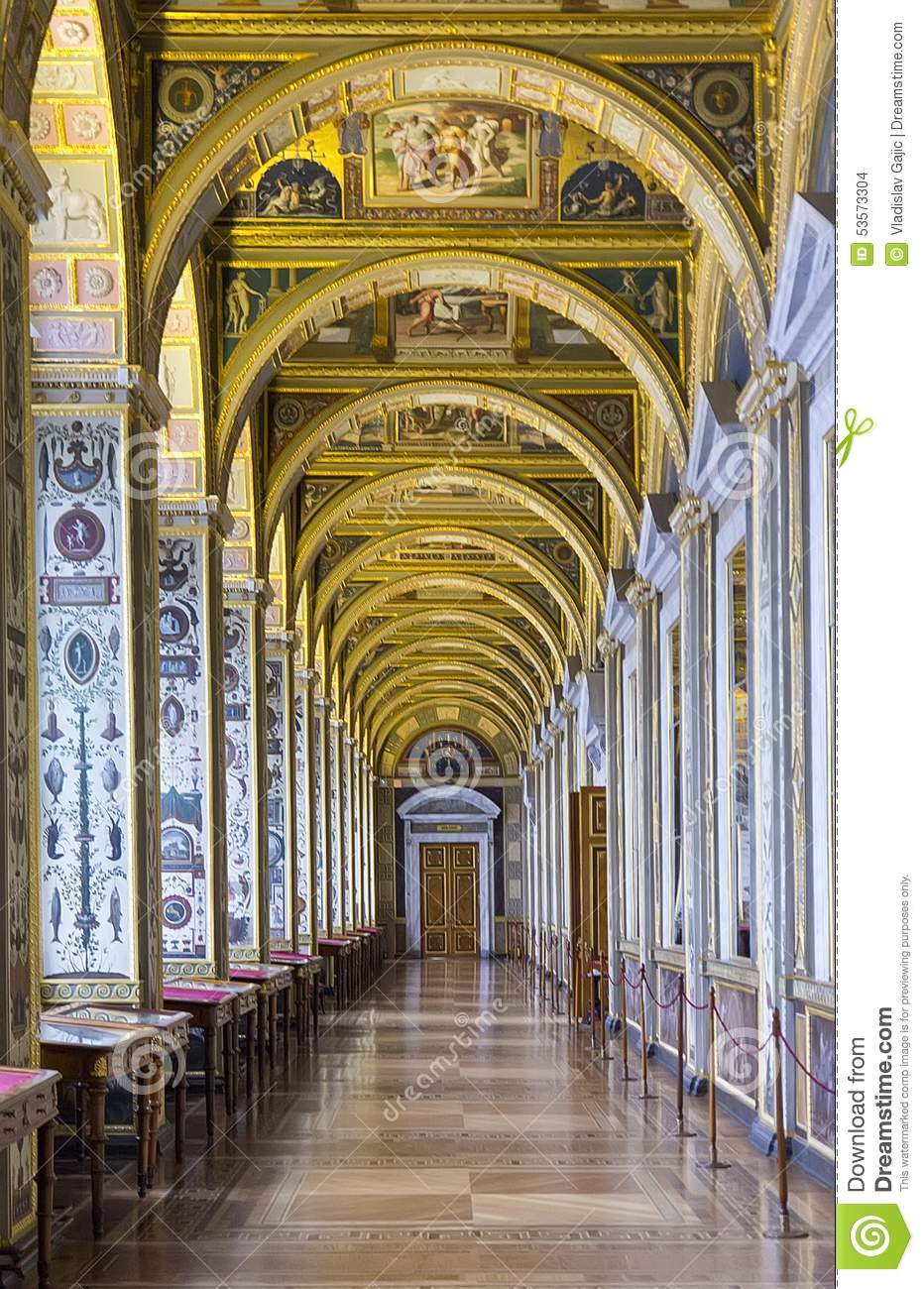 Interior of the state hermitage a museum of art and for Inside l interieur