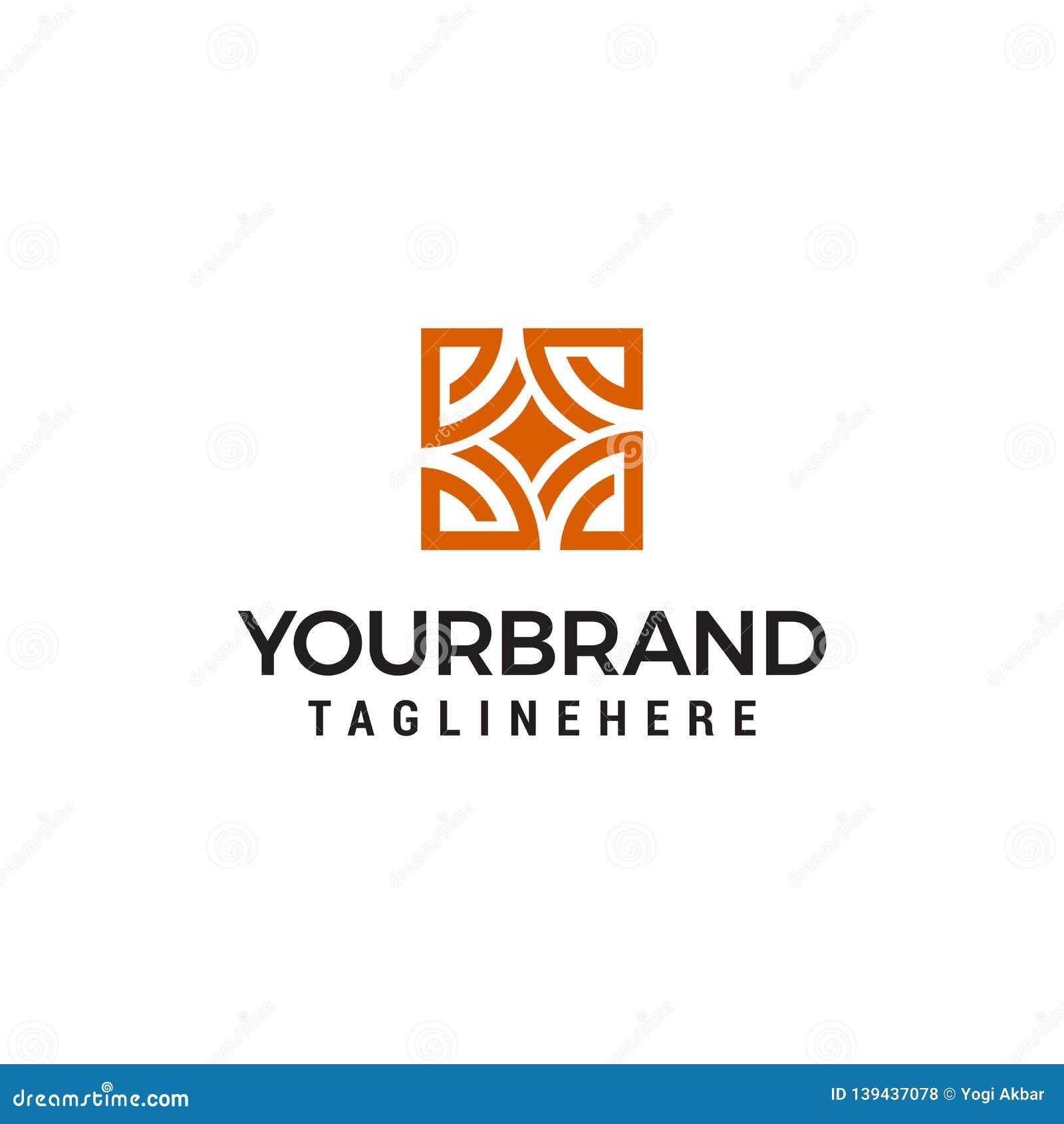 Interior store logo design concept