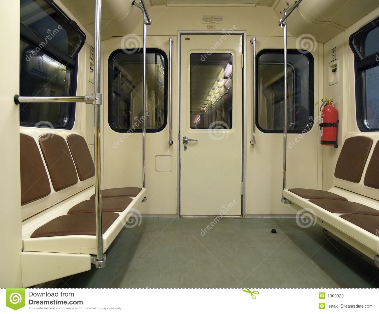 interior of a subway train stock image image of handrail 1909929. Black Bedroom Furniture Sets. Home Design Ideas