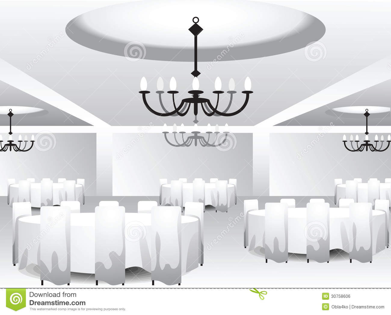 Interior Template For Event Design Royalty Free Stock Image Image 30758606