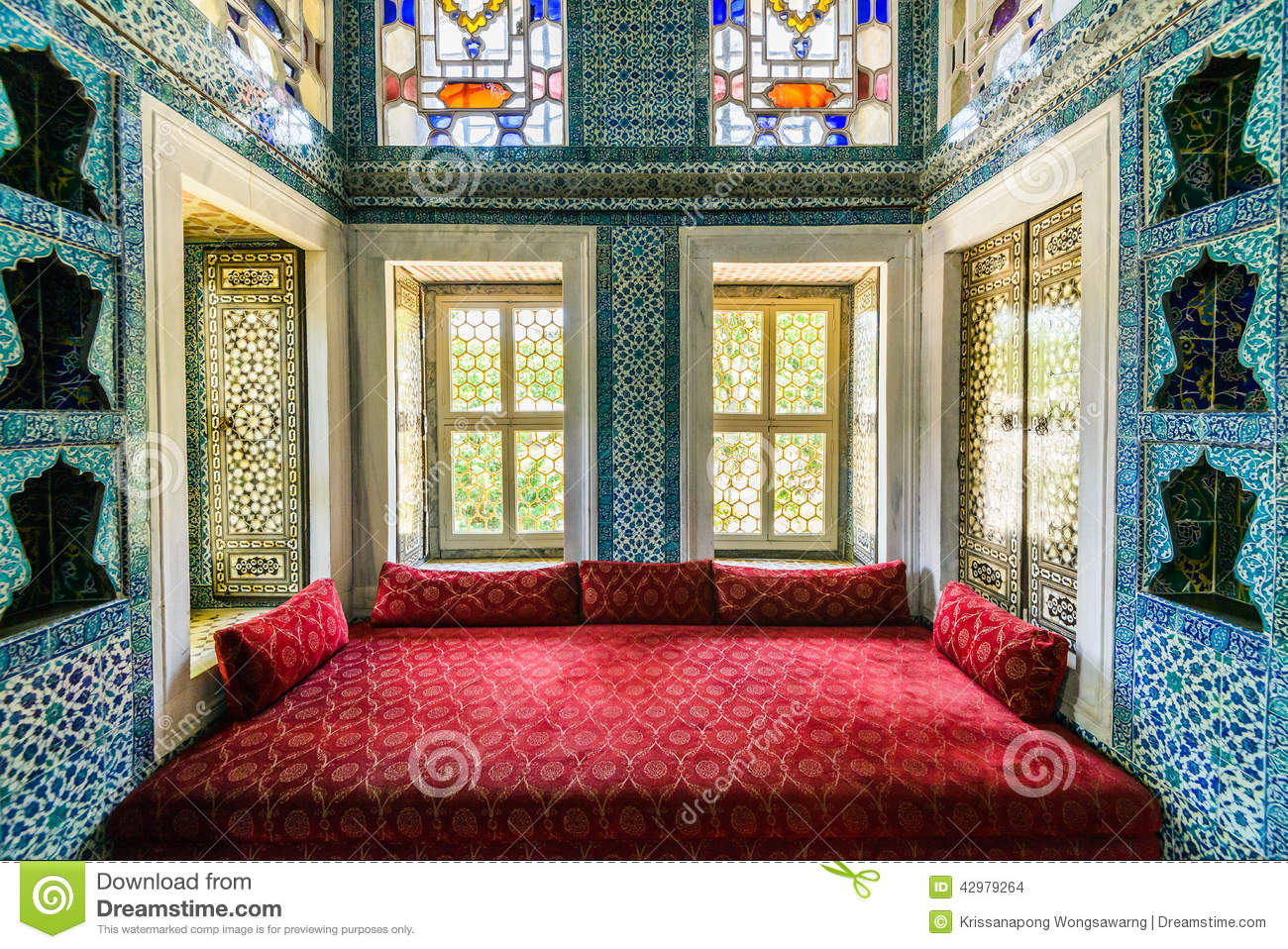 The Interior Of Topkapi Palace Stock Photo - Image of ...
