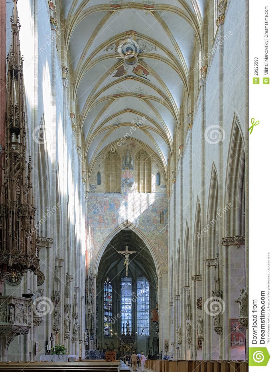Interior Of The Ulm Minster Stock Photos Image 29325593