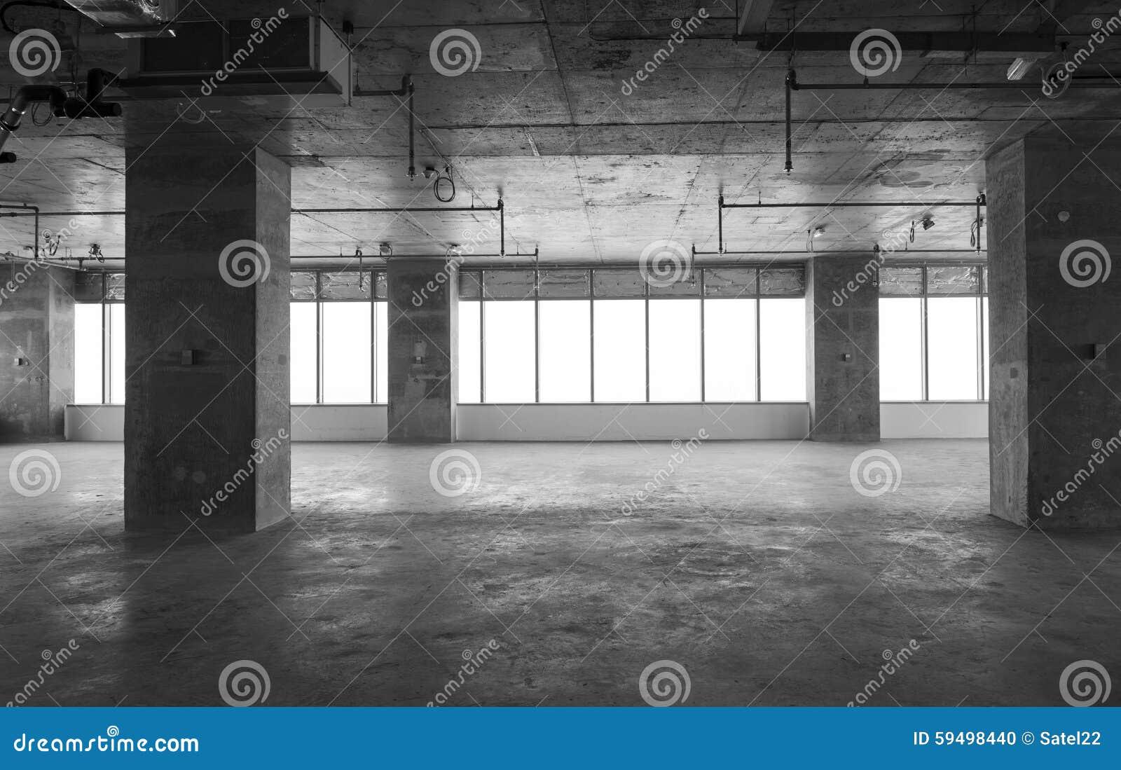 Interior Building Construction : Interior under construction stock photo image