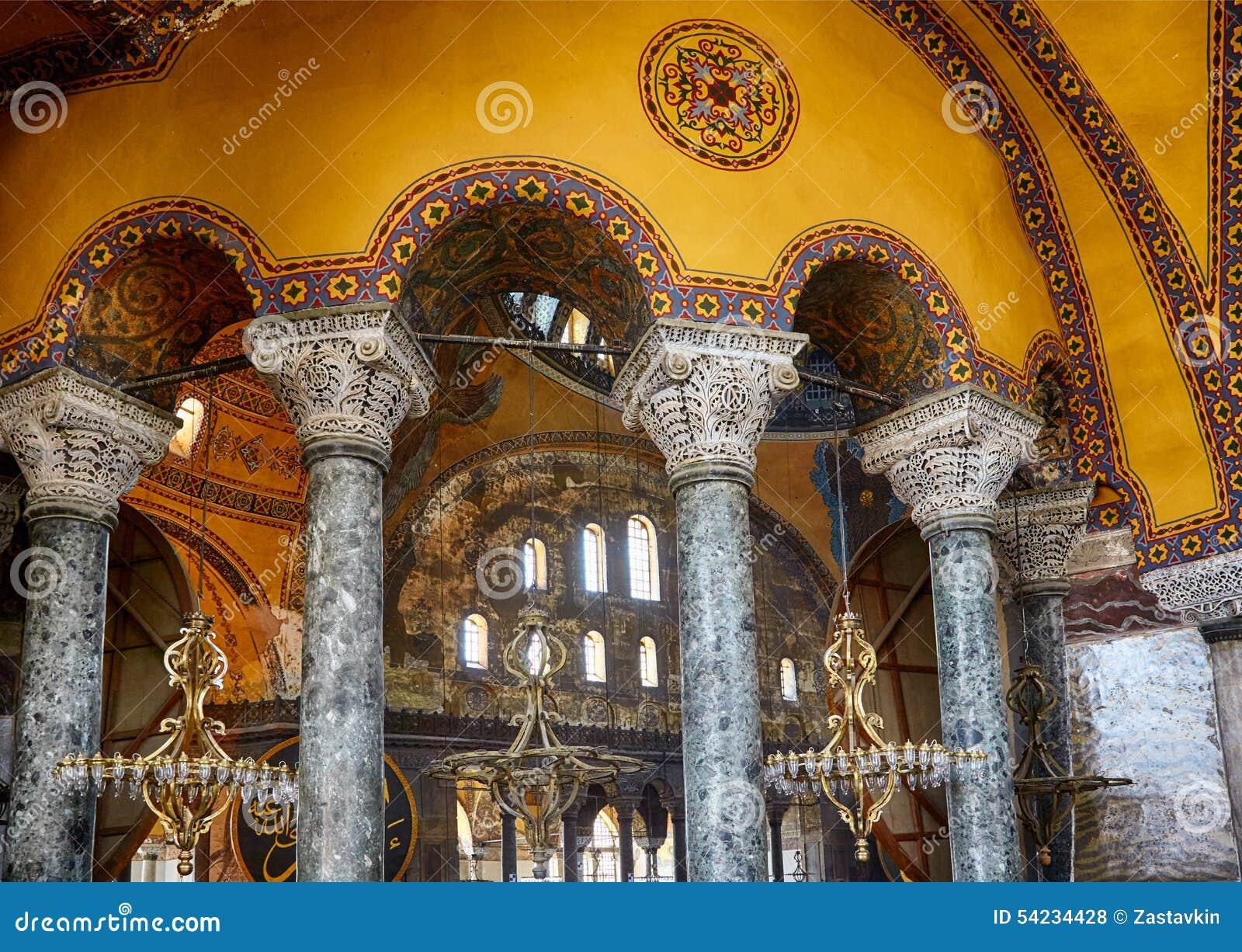 Columns » Hagia Sophia   Hagia Sophia Interior Columns