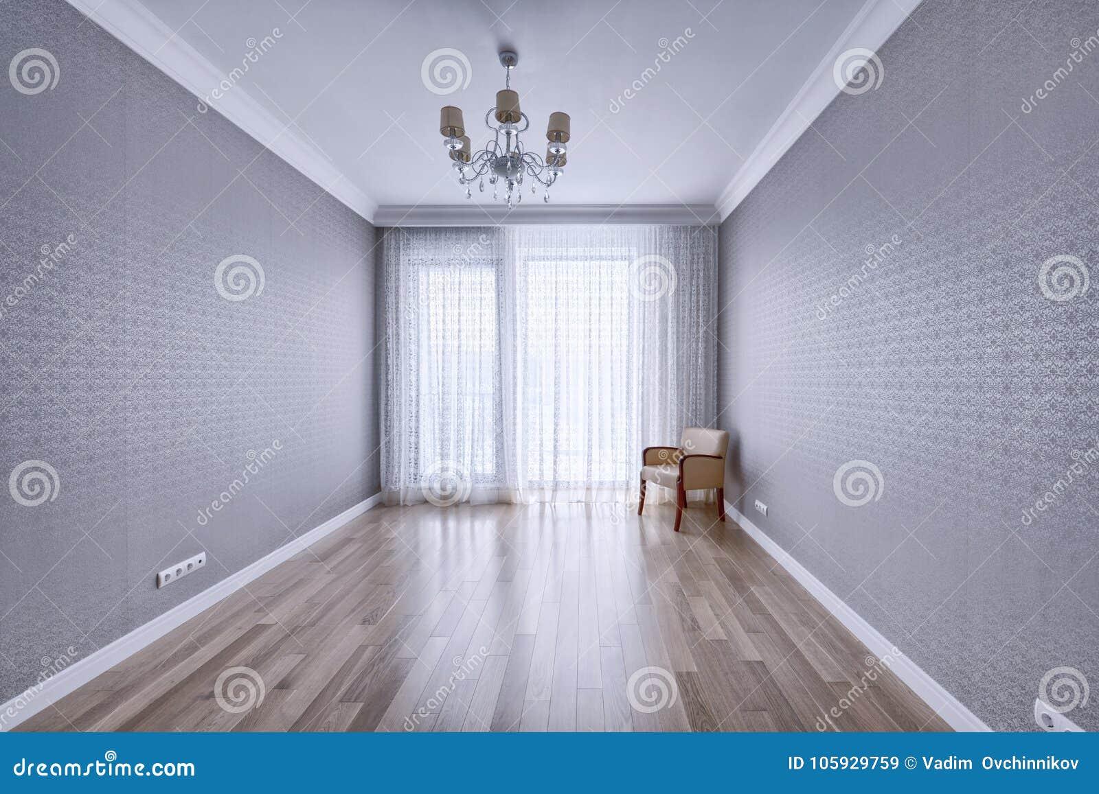 Interior vacío en casa moderna