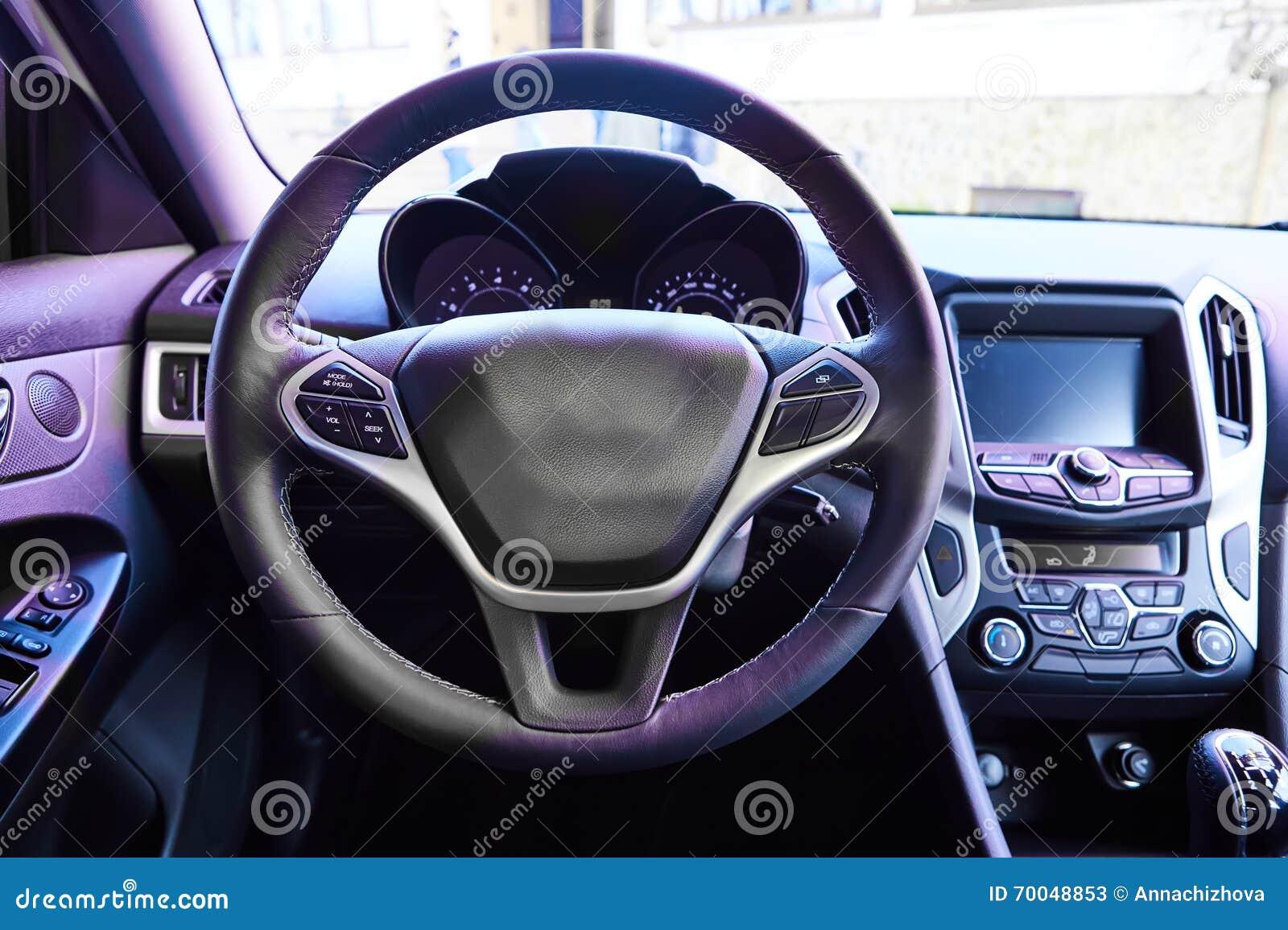 car interior view stock image 72159703. Black Bedroom Furniture Sets. Home Design Ideas