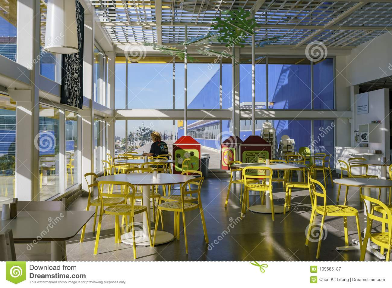 Interior View Of The Famous Ikea Furniture Stores Stock Image