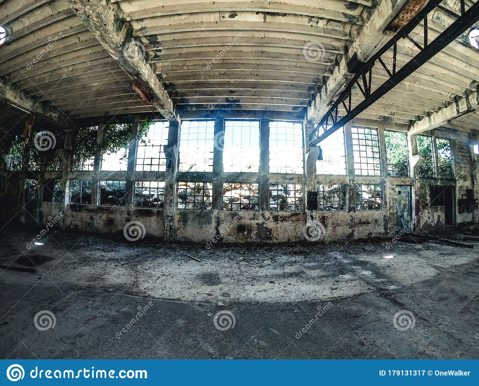 Industrial Breakdown — Nude Ruins