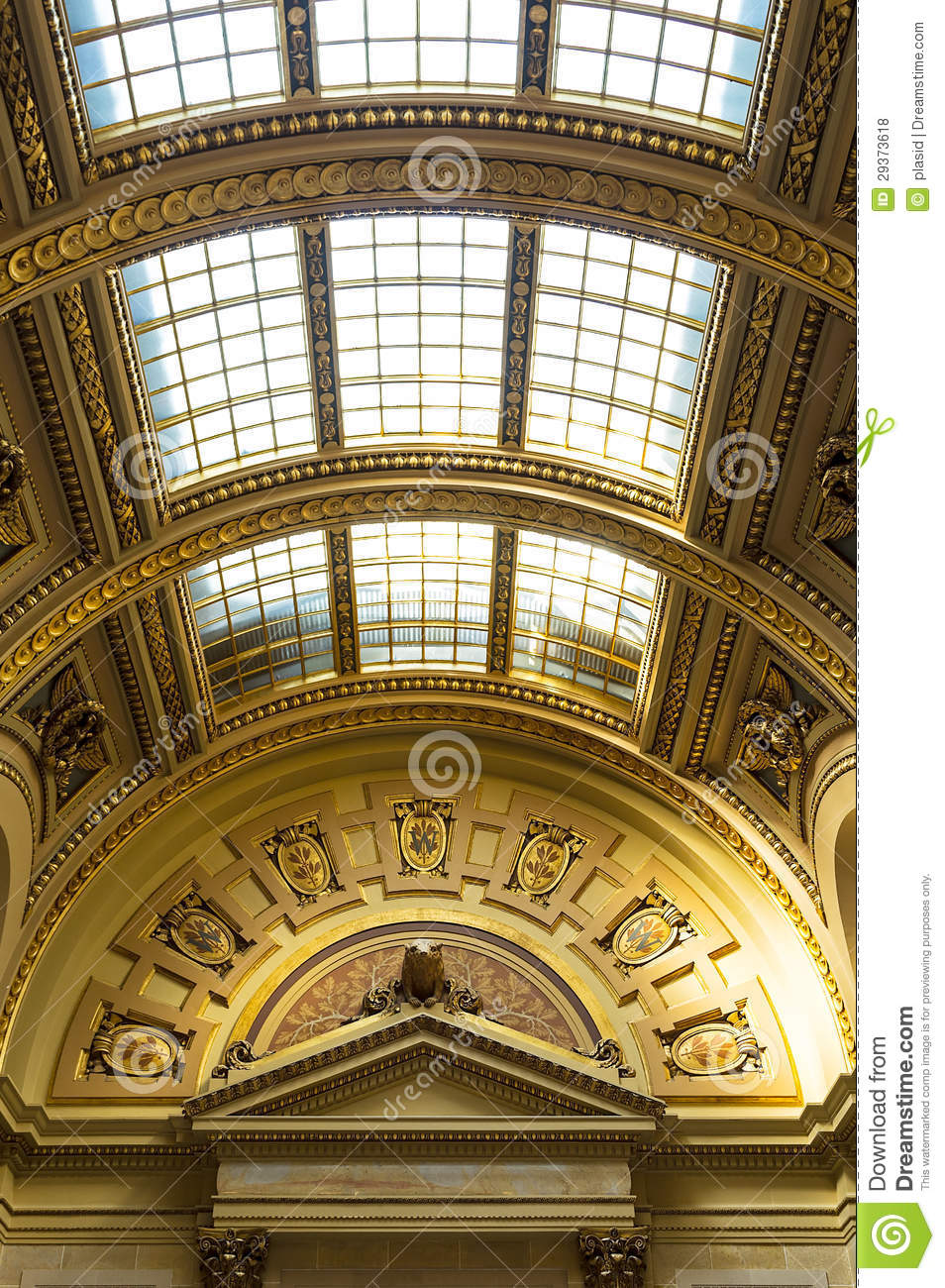 The Interior View Of Wisconsin State Capitol In Madison Royalty Free Stock Photos Image 29373618