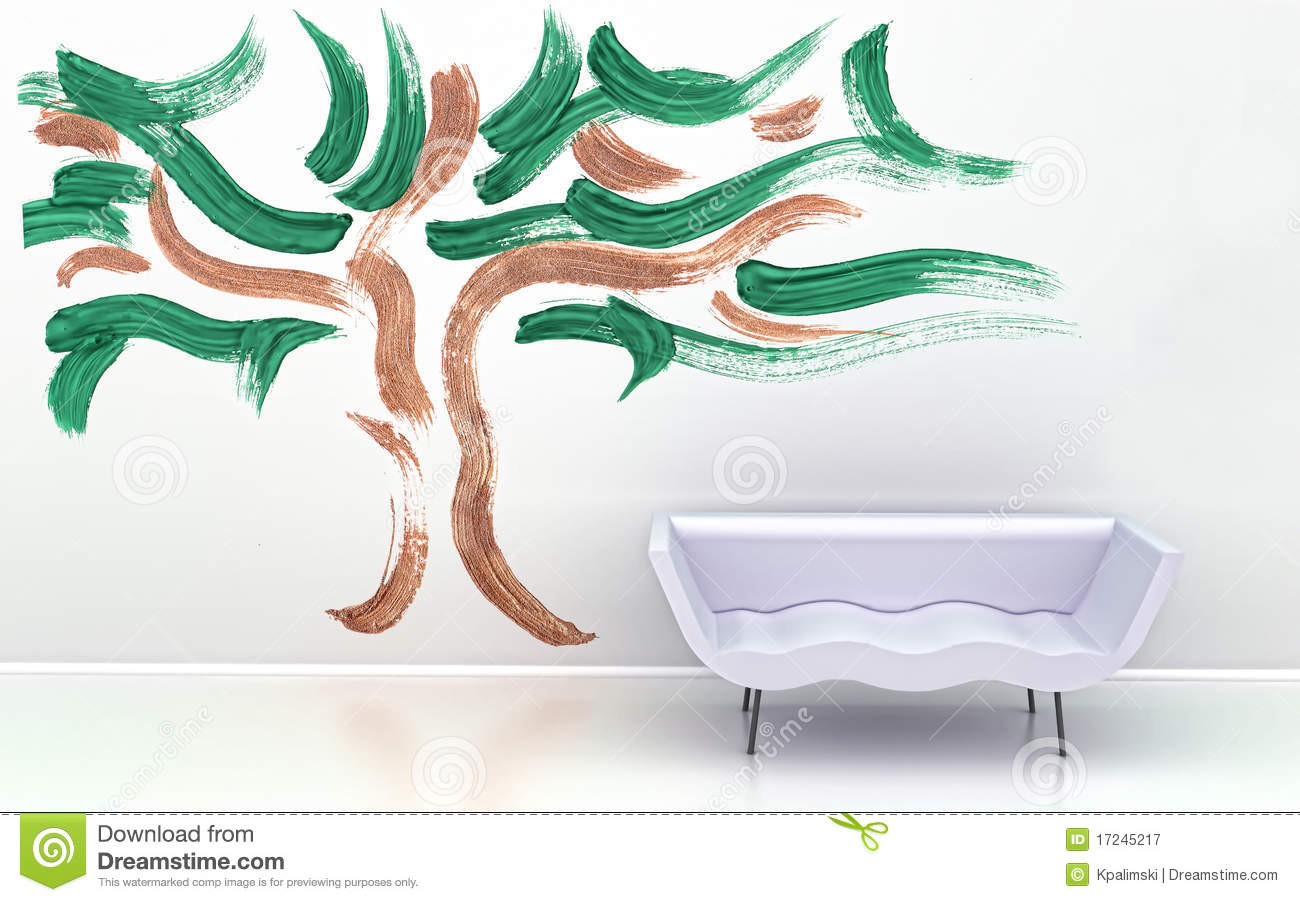 interior wall design. royalty free stock photography - image: 17245217