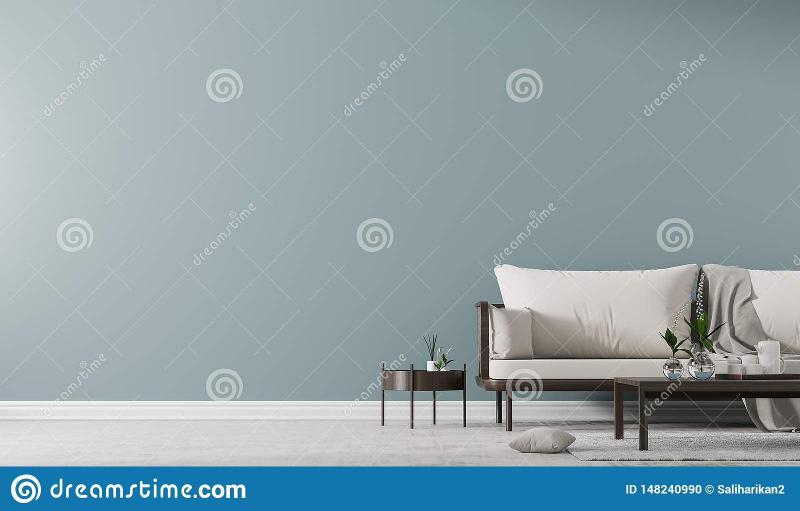 Surprising Interior Wall Mock Up With Scandinavian Style Sofa With Gmtry Best Dining Table And Chair Ideas Images Gmtryco