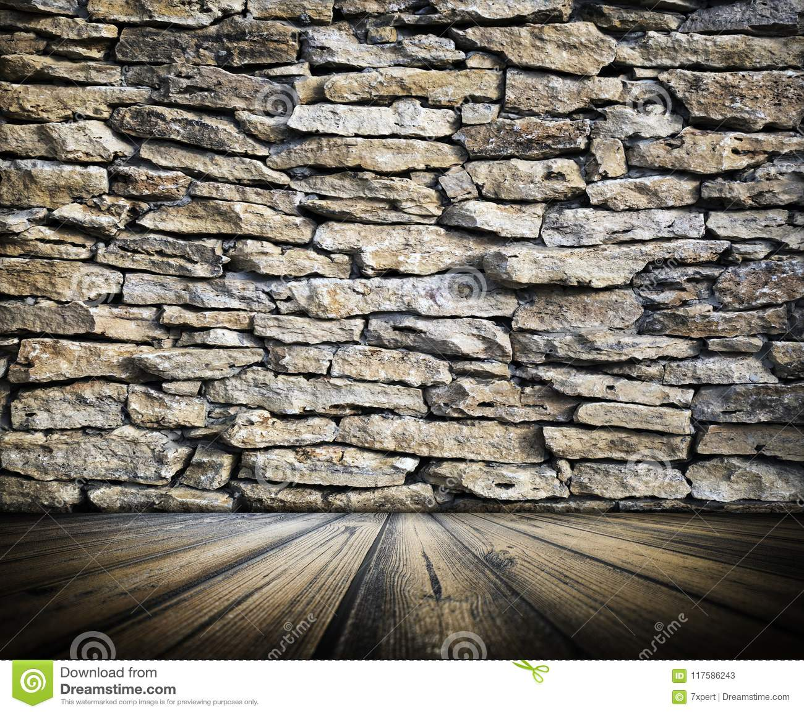 Interior Wall Texture. 3d Rendering