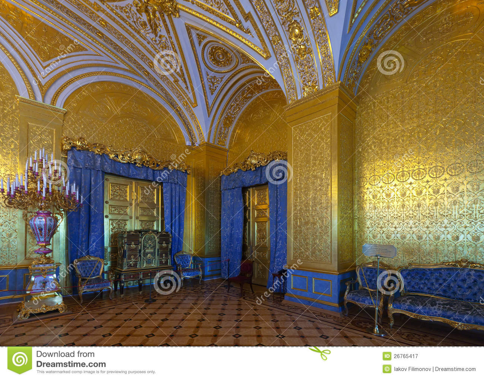 Interior Of Winter Palace. Saint Petersburg Editorial ...