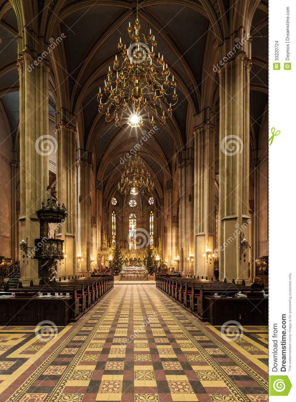 Interior of zagreb cathedral stock photo image 33220724 for Interior design zagreb