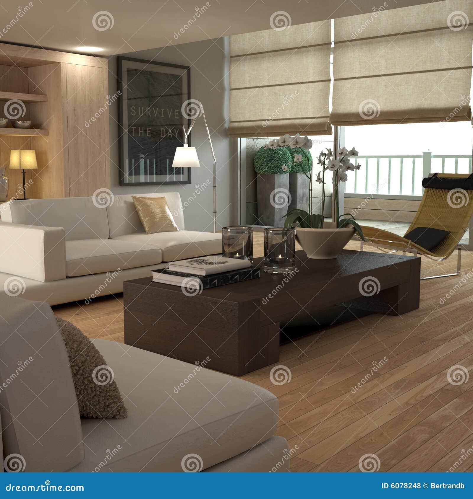 Interiore beige elegante
