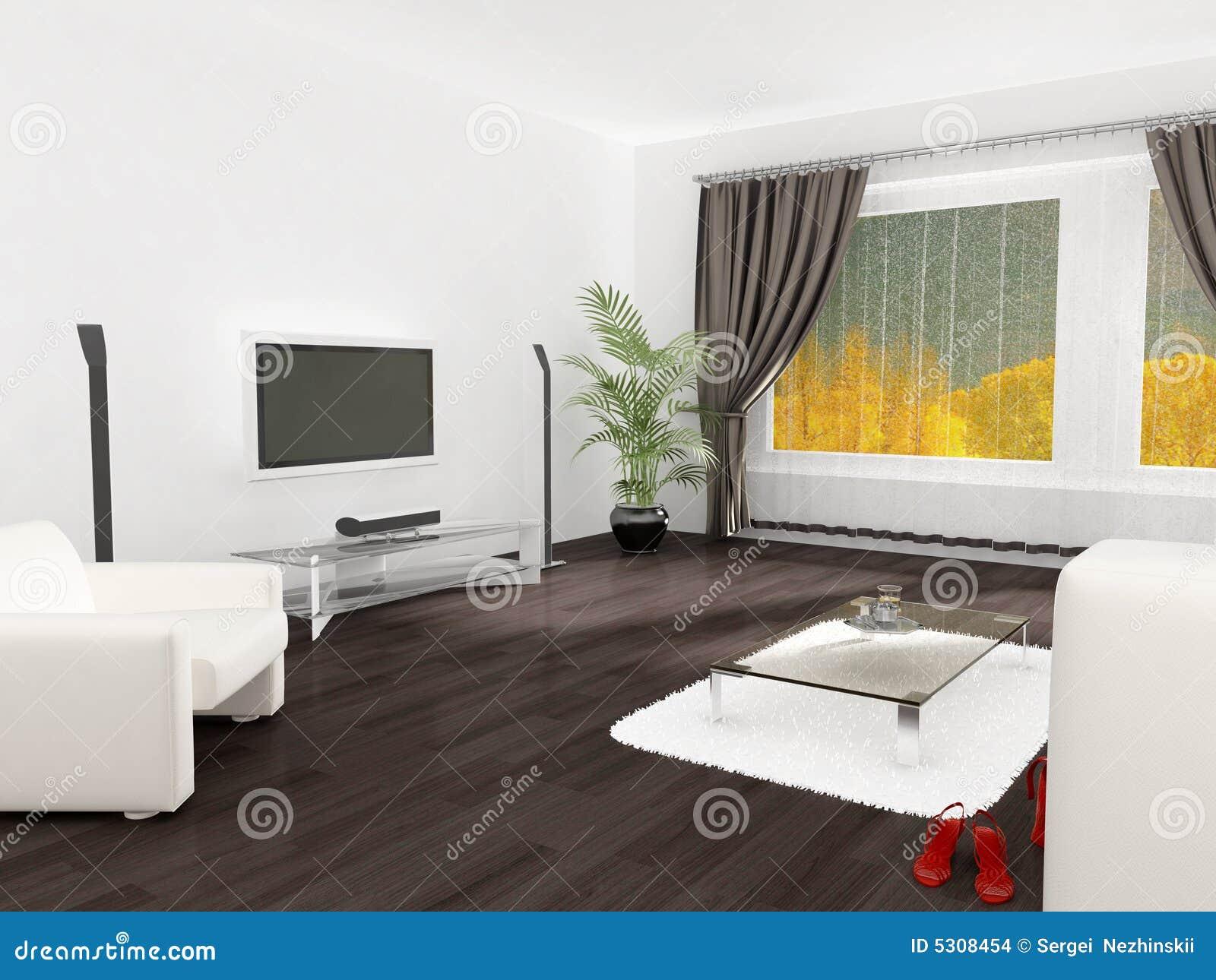 Download Interiore bianco illustrazione di stock. Illustrazione di scrittorio - 5308454