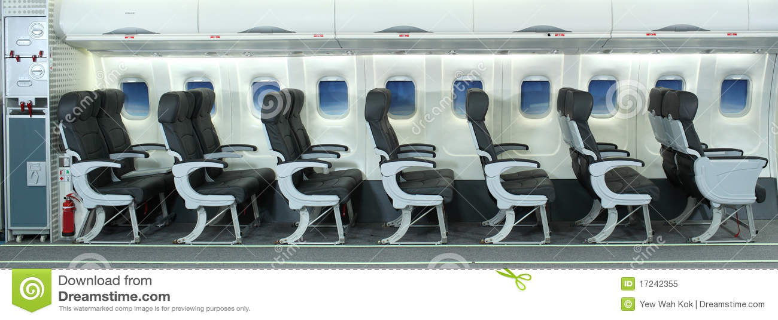 Interiore dell aeroplano