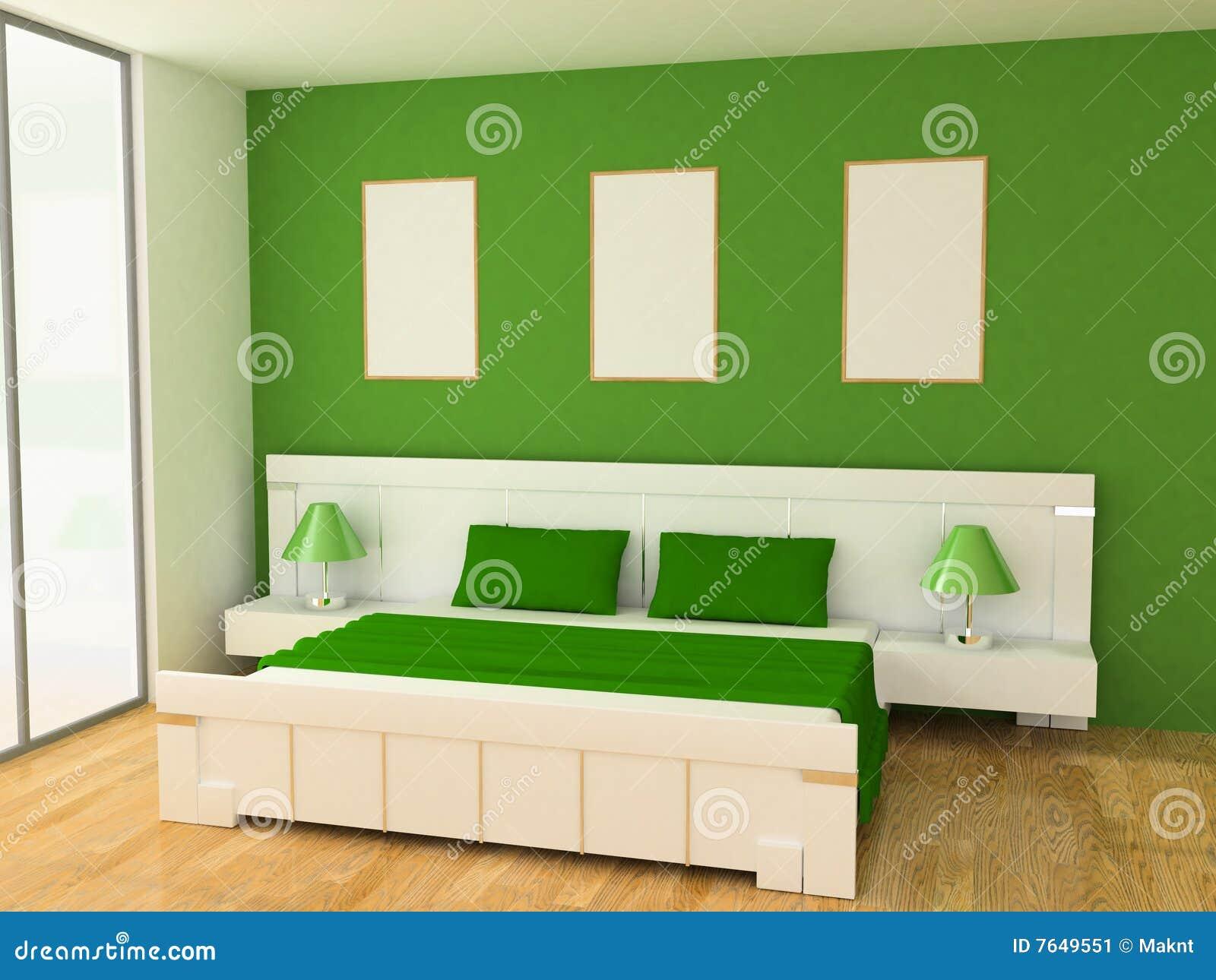 Interiore della camera da letto illustrazione di stock - Descrizione della camera da letto ...