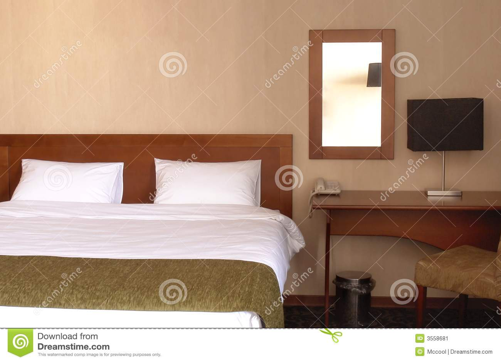 Interiore della camera da letto dell hotel