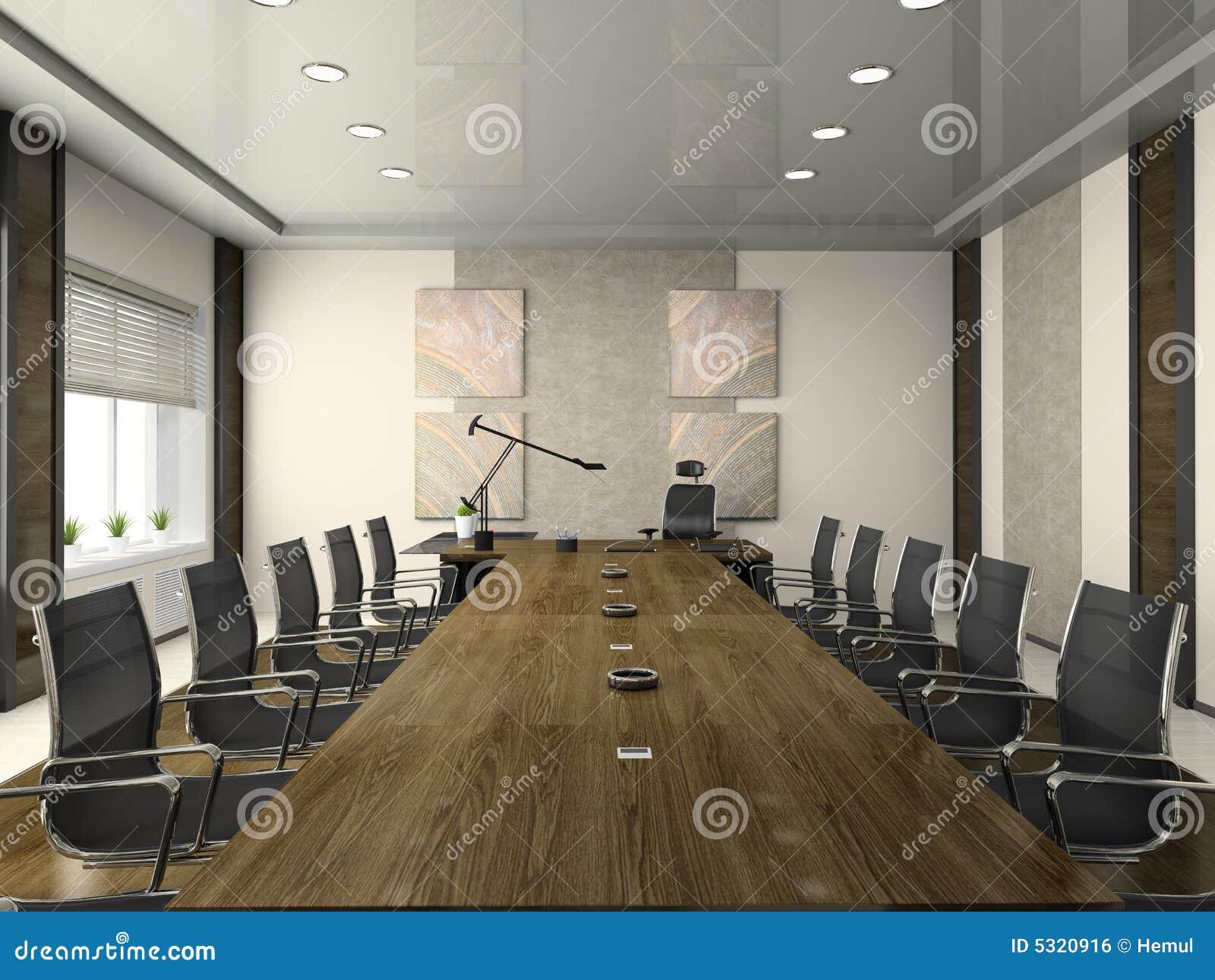 Download Interiore Della Sala Per Conferenze Illustrazione di Stock - Illustrazione di trattative, ciechi: 5320916
