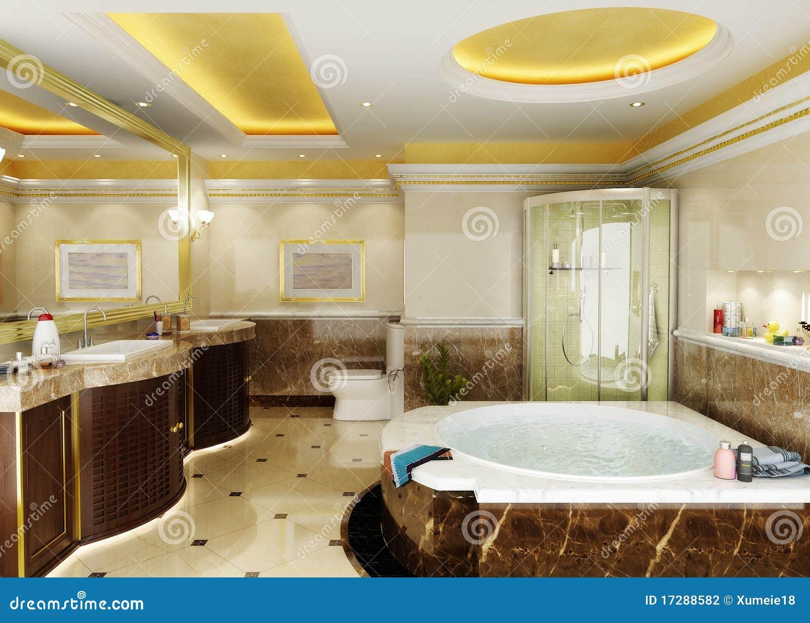 Interiore della stanza da bagno illustrazione di stock immagine 17288582 - Stanza da bagno ...