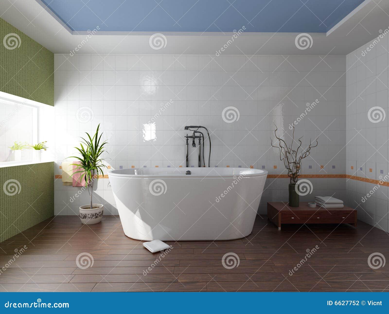 Interiore della stanza da bagno