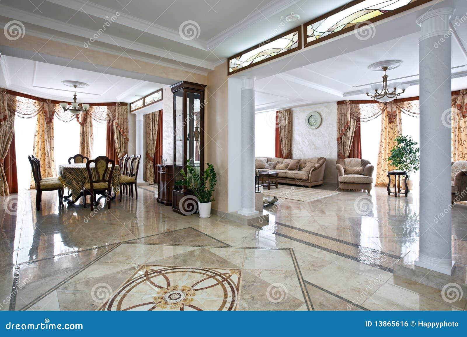 Interiore domestico di lusso